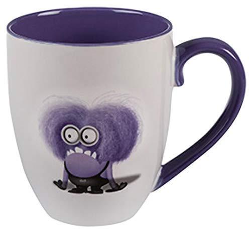 Universal Studios Florida Mayhem Minion Evil di Cattivissimo Me, Minion viola media Nasty 'I Don't Do Mornings', 20 ml Tazza da caffè