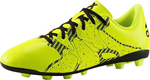 adidas - Botas de fútbol de Material Sintético para niño Lima / Negro, color, talla 35.5 EU
