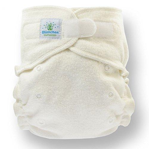 Floreale Onesize kuschel Mutandine pannolino 5pezzi organico (3–15kg) Chiusura in Velcro