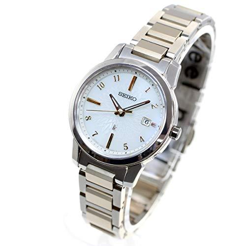 [セイコーウォッチ] 腕時計 ルキア I Collection SSQV082 レディース シルバー+ゴールド