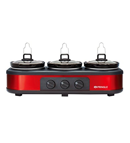 Pringle FW-1806 4.5-liters Slow Cooker (Red/Black)