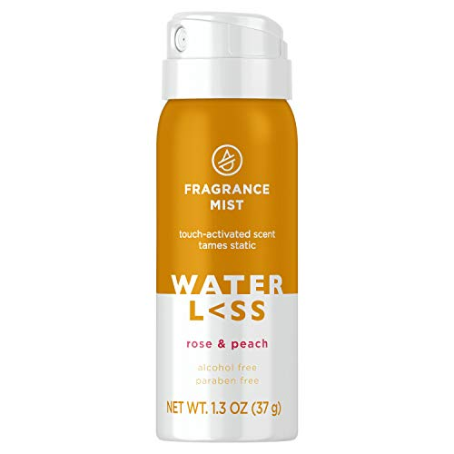 Waterless Fragrance Mist Rose & Peach 1.3 Oz. | Sulfate-Free | For All Hair Types