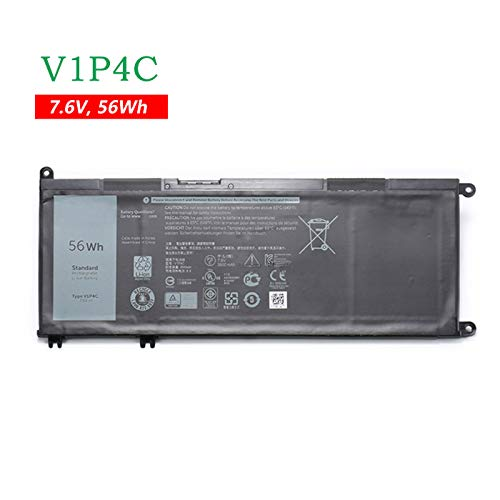 BOWEIRUI V1P4C (7.6V 56Wh 7000mAh) Laptop Battery Replacement for Dell Chromebook 13 3380 Series VIP4C