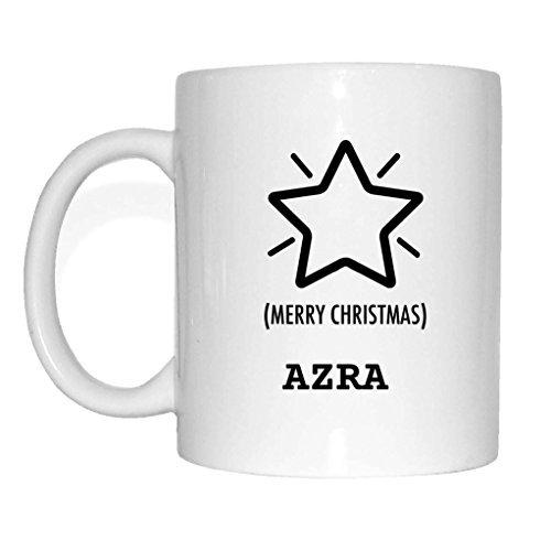 JOllify geschenk voor AZRA mok beker mok kerst MX5172 Sterren kerstster