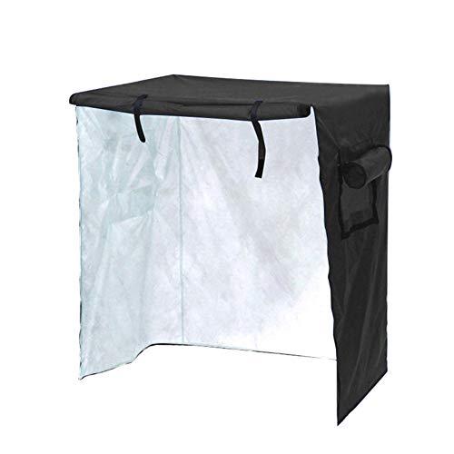 Outdoor Bird Cage Cover Open-Air Tierkäfig Baldachin Haushalt Täglich chemische Abdeckung Staubabdeckung mit Silber und Regen beschichtet 97 * 60 * 130cm,A