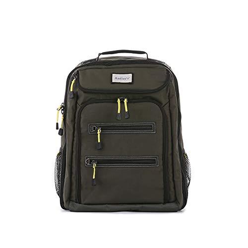 Antler Urbanite Evolve Backpack, Durable Travel Pack (Khaki)