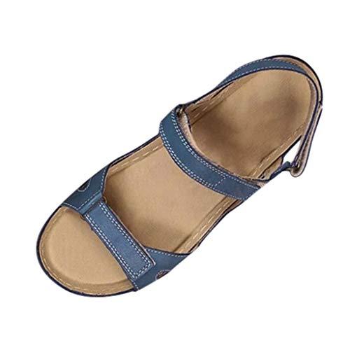 infradito bambina pantofole donna pantofol tacco ciabatte donna suola morbida infradito strass scarpe donna estive eleganti (G39-Blue,39)