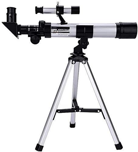 DKEE Binoculars Astronomische Fernrohr for Kinder, Bewegliches Teleskop Spielzeug for Kinder Refraktor Mit Stativ Leichtes for Anfänger