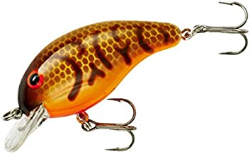 Band-It Crankbait Series 100 200 & 300 Bass Fishing Lures, Brown Craw Orange Belly, Series 100 (Dives to 5') (BDT104)