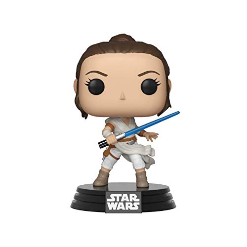 Funko- Pop Star Wars The Rise of Skywalker-Rey Disney Figura Coccionab, Multicolor, Talla Única (39882)