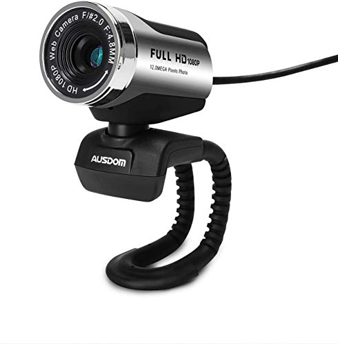 HD 1080P Webcam, Built-in Noise-Cancelling Microphone Stream Webcam for Video Conferencing, Online Work, Home Office,YouTube, Recording and Streaming,Suit for Microsoft Teams