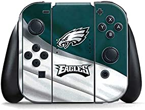 Skinit Decal Gaming Skin for Nintendo Switch Joy Con Controller - Officially Licensed NFL Philadelphia Eagles Design