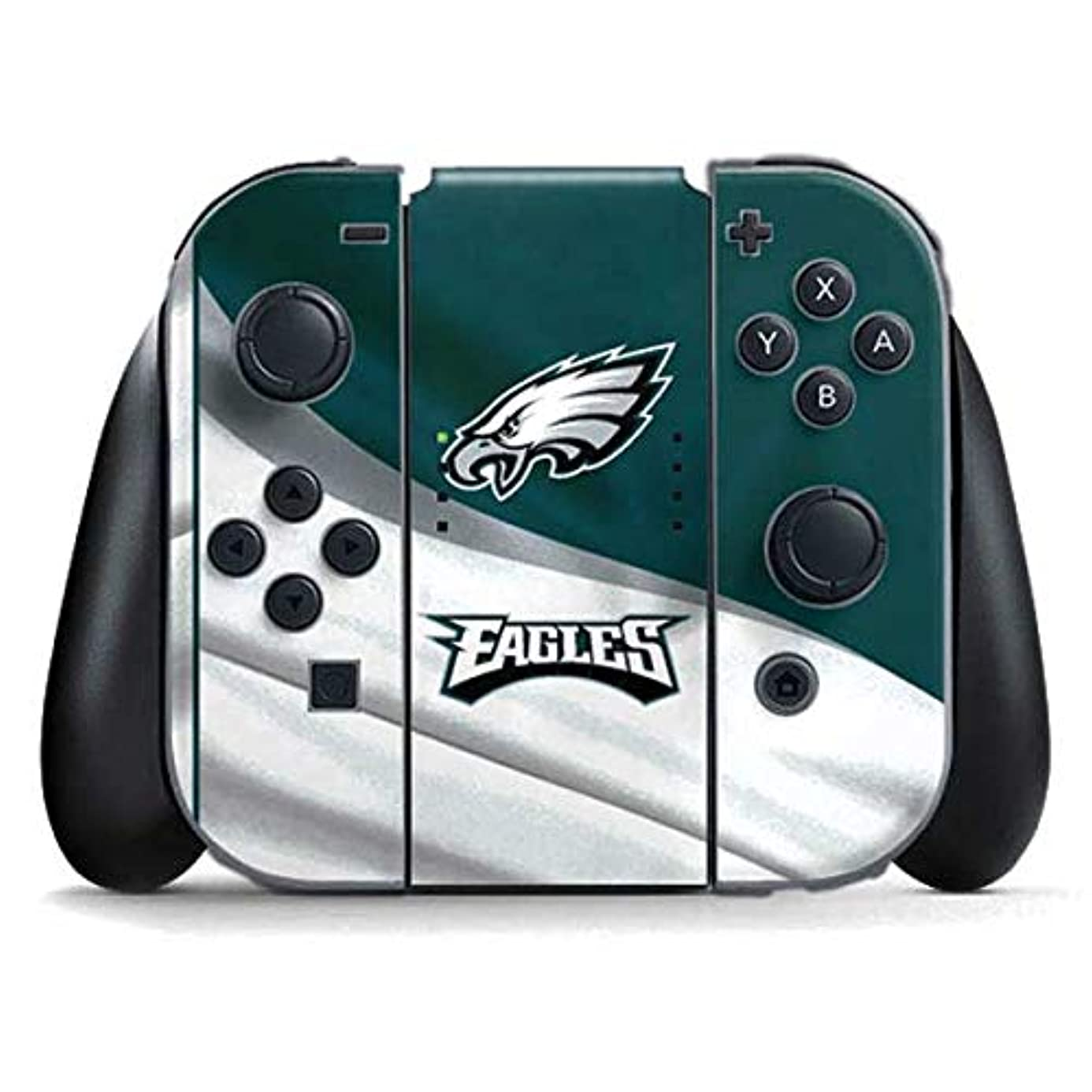Skinit Philadelphia Eagles Nintendo Switch Joy Con Controller Skin - Officially Licensed NFL Gaming Decal - Ultra Thin, Lightweight Vinyl Decal Protection