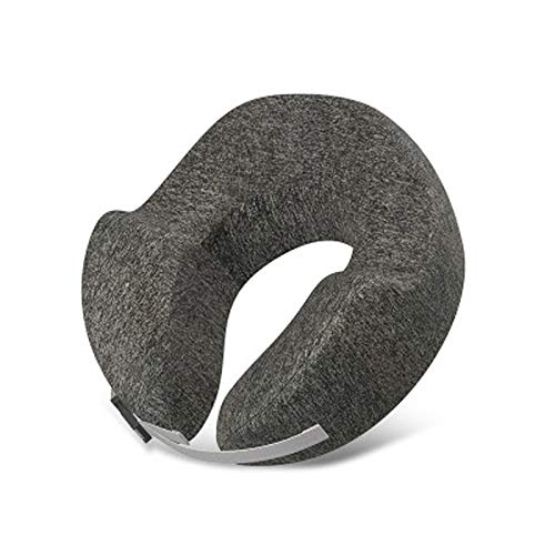 Travel Pillow Memory Foam Neck Support On A Train, Airplane, Car, Bus Or While Camping - Comfortable U Shaped Cushion. Neck Support Plane Pillow