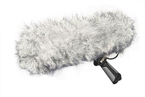 Sennheiser MKH416 P48 Shotgun Microphone Bundle With K-Tek KE110CC Boompole, Rode Blimp, 6' XLR Cable & 2 Cable Straps