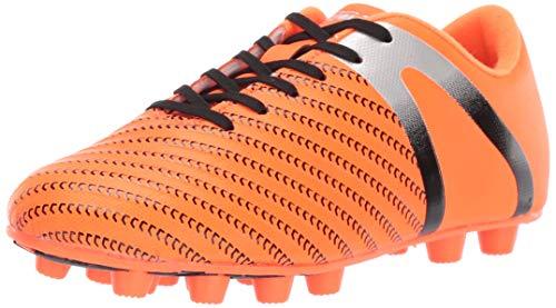 Vizari Boy's Impact FG Orange/Silver Size 11.5 Soccer Shoe, Little Kid