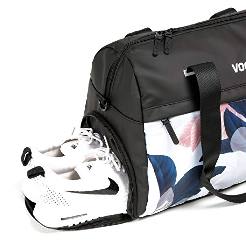 Best Women's Gym Bag with Shoe Pouch