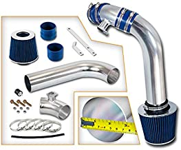 Rtunes Racing Cold Air Intake Kit + Filter Combo BLUE Compatible For 92-98 BMW E36 3 Series