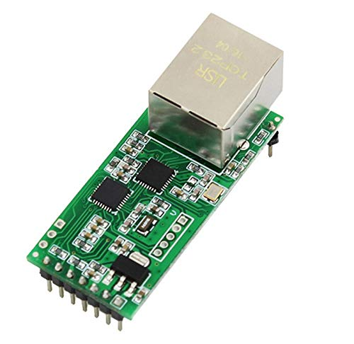 SHAPB 10pcs/lot Ethernet Module Network to Serial Port RJ45 to TTL Network Port USR-TCP232-T2 Applied to The 232/485 interfaces IOT