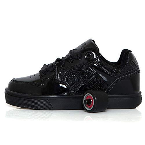 Heelys Motion Plus Jungen Mädchen Schwarze Schuhe (36.5 EU, Schwarze)
