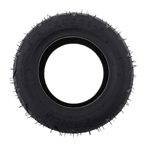 Almencla Gummi Reifen Sommerreifen, passend für Elektroroller Motorrad ATV Quad, 13x5,00-6 Zoll, Anti-Rutsch, Hitzebeständig