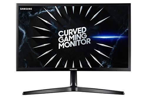 Samsung 24-inch (59.8 cm) Curved Gaming Monitor- Full HD, AMD Free Sync, 144 Hz Refresh Rate- LC24RG50FQWXXL