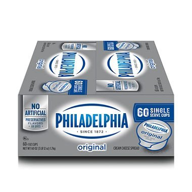 Kraft Philadelphia Cream Cheese (1 oz. cups, 60 ct.)