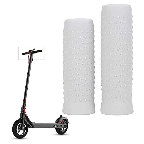 junmo shop Scooter eléctrico Agarraderas apretones antideslizante scooter silicona manillar cubierta fijo agarre cubierta parte