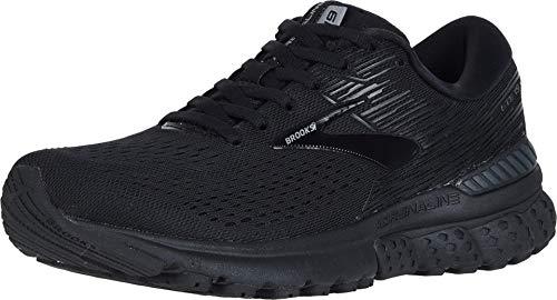 Brooks Women's Adrenaline Gts 19 Running Shoes, Black (Black/Ebony 071), 7.5 UK
