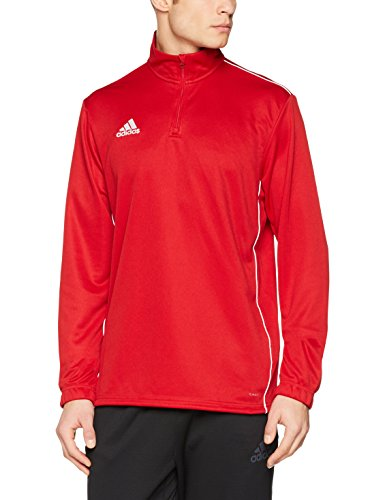 adidas CORE18 TR Top Sudadera, Hombre, Power Red/White, XL