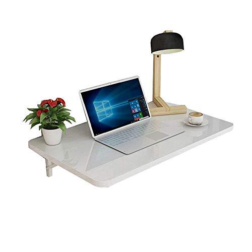 Home&Selected Voeder-/wandtafel, klaptafel, eettafel, computertafel, tafelhoek, bruikbaar voor woonkamer, slaapkamer, keuken, wit (maat: 90 x 50 cm) 70*50cm
