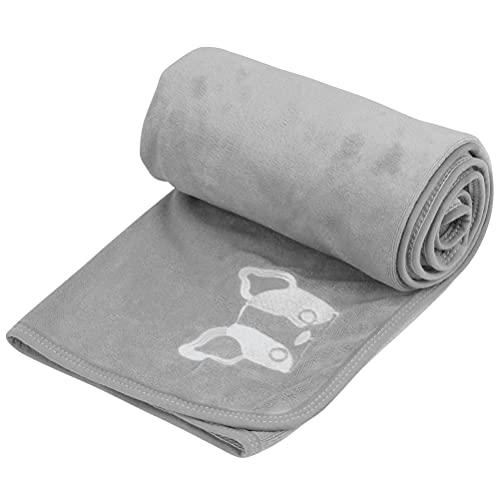 TIMESETL Ręcznik dla psa wykonany z mikrofibry, 70 x 140 cm ręcznik dla zwierząt ręczniki kąpielowe szybkoschnące ultramiękki i puszysty ręcznik prysznicowy dla psów i kotów, bardzo chłonny ręcznik z mikrofibry