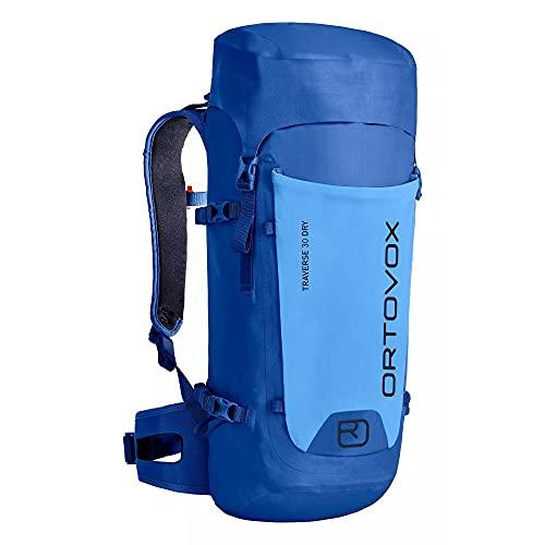 Ortovox Traverse 30 Dry Mochila, Unisex Adulto, Just Blue, 30 litros