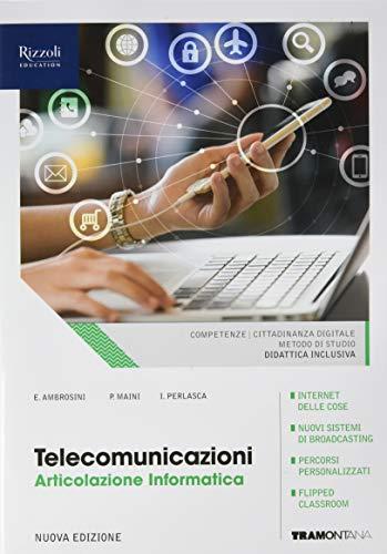 Telecomunicazioni. Articolazione informatica. (Adozione tipo B). Per le Scuole superiori. Con ebook. Con espansione online