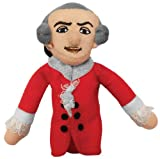 The Unemployed Philosophers Guild Wolfgang Amadeus Mozart Finger Puppet and Refrigerator Magnet - for Kids and Adults