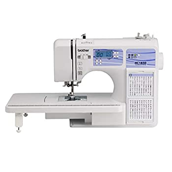 Brother HC1850 Sewing and Quilting Machine 185 Built-in Stitches LCD Display 8 Included Feet