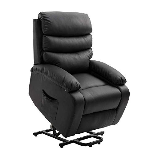 Homegear Electric Recliner PU Leather Lift Chair