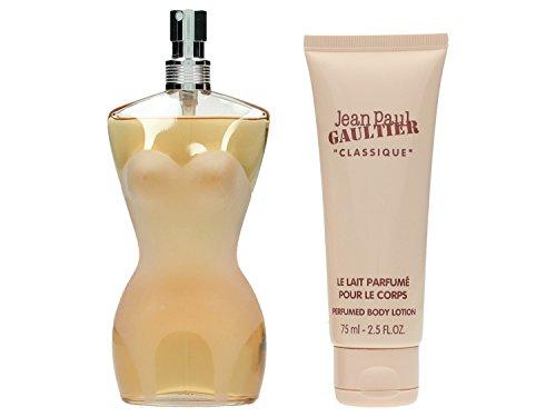 Jean Paul Gaultier Classic Set femme/woman, Eau de Toilette Vaporisateur/Spray 100 ml, Bodylotion 75 ml, 1er Pack (1 x 175 ml)