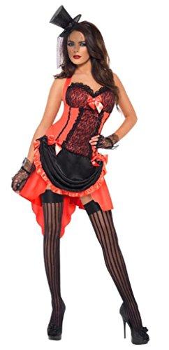 SMIFFYS Costume Carnevale Halloween Moulin Rouge linea Fever film - sexy donna [importato dalla Germania]