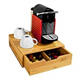 SoBuy® FRG70-N Kaffeekapsel Box Kapselhalter für Kapseln,Teebeutel Kapselständer Monitorständer...