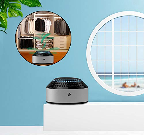 LK-HOME ultraviolette desinfectie-lamp draagbare ozondesinfectie-ontmijtlamp kan mini-luchtontvochtiger voor slaapkamer woonkamer kledingkast keuken dragen