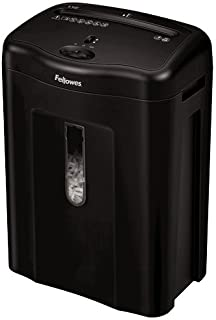 Fellowes Powershred 11C Cross, Cut Shredder, 11 Sheet Capacity, Black (4350001)