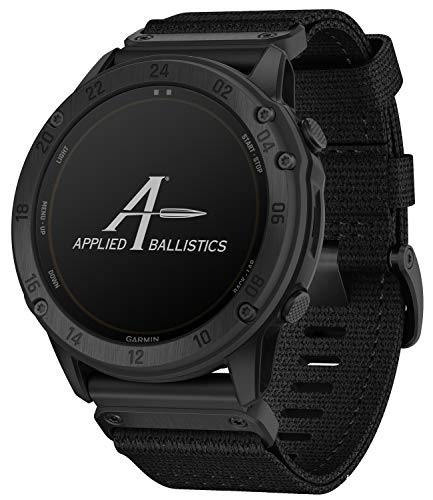 Garmin Tactix Delta Solar Smartwatch Ballistic Edition Schwarz 010-02357-51