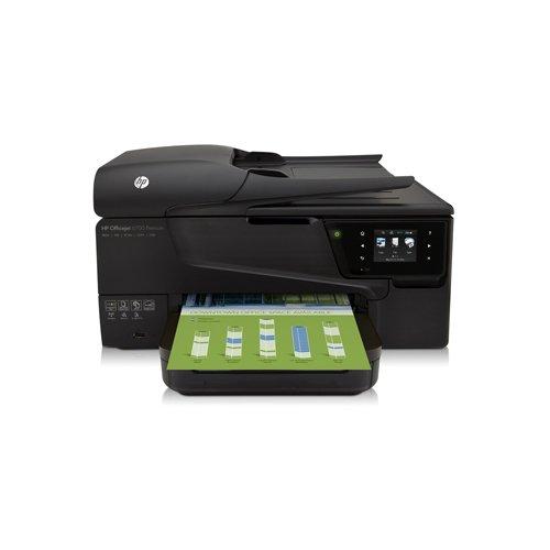 HP Officejet 6700 Premium - Impresora multifunción de tinta (B/N 16 PPM, color 9 PPM), Negro