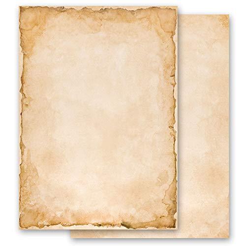 100 Blatt Briefpapier Antik & History VINTAGE - DIN A6 Format - Paper-Media