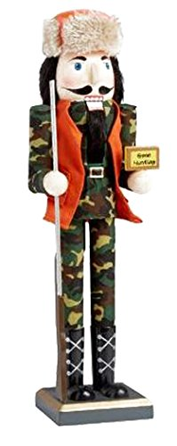 Gift For A Hunter – 15 Inch 'Gone Hunting' Nutcracker
