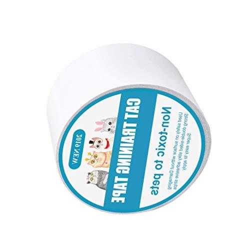 UKCOCO Anti Scraching Band Sofa Scratch Abschreckung Band Self- Adhesive Möbel Protector für Couch Carpe Katze Kratzen Aufkleber Pet Scratch Protector ()