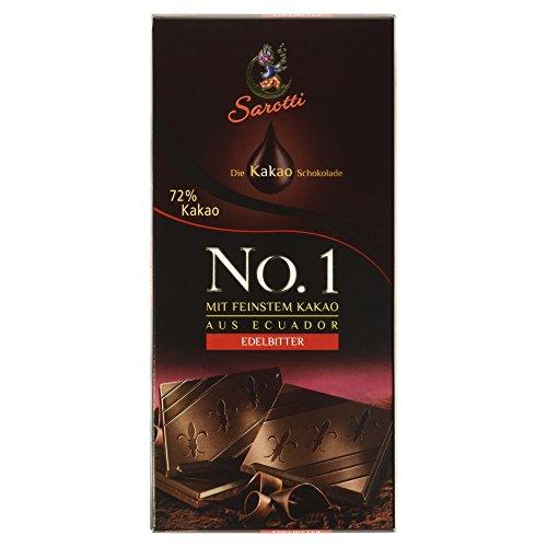 Sarotti Ecuador Edelbitter-Schokolade, 100g
