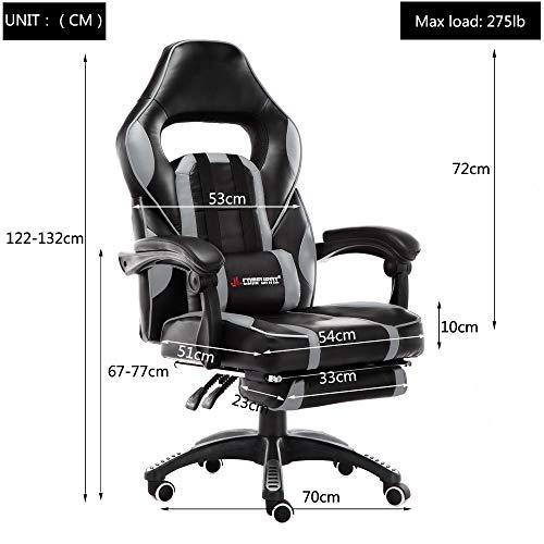 JL Comfurni Gaming Stuhl Bürostuhl Bild 6*