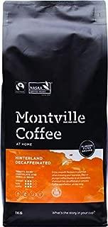 MONTVILLE COFFEE Hinterland Blend Plunger Ground Decaf Coffee 1 Kg